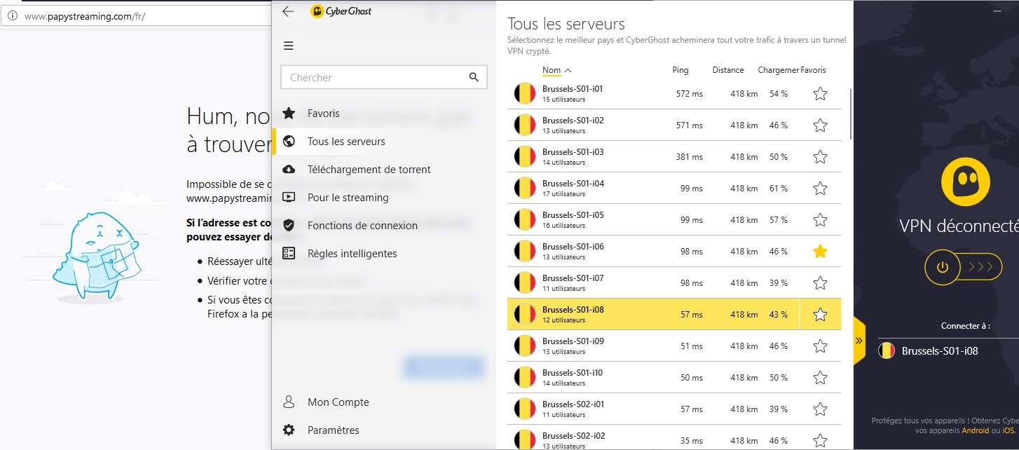 Débloquer Papystreaming